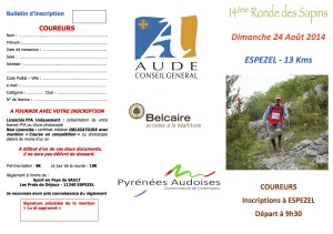 Bulletin coureurs recto
